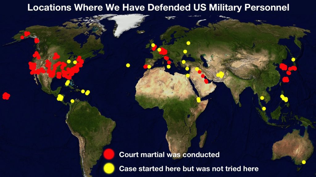 court martial map