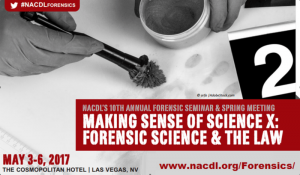 NACLD Forensic Science and the law