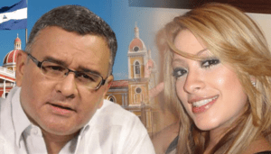 President Funes & his mistressAda Mitchell Guzmán Sigüenza