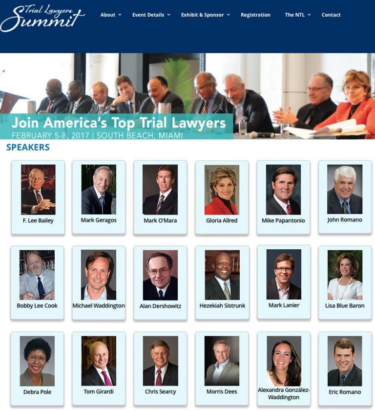 trial lawyer summit