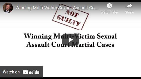 multi victim sexual assault